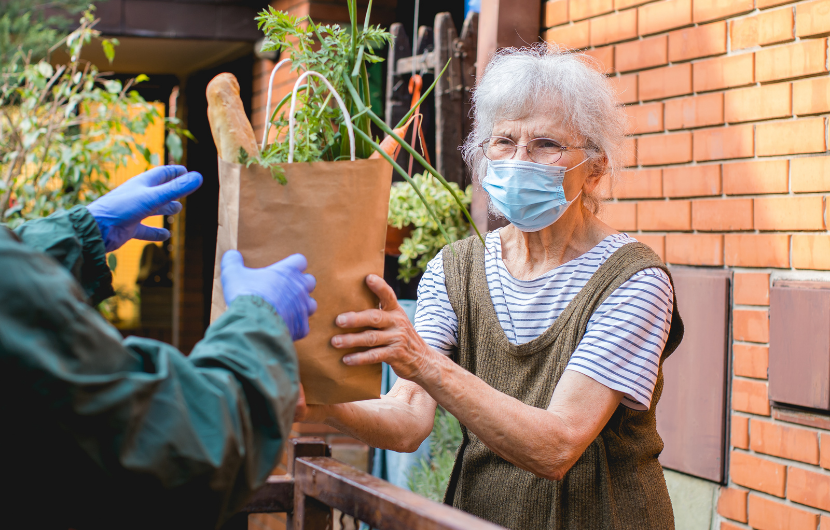 Custodia helping seniors during the pandemic