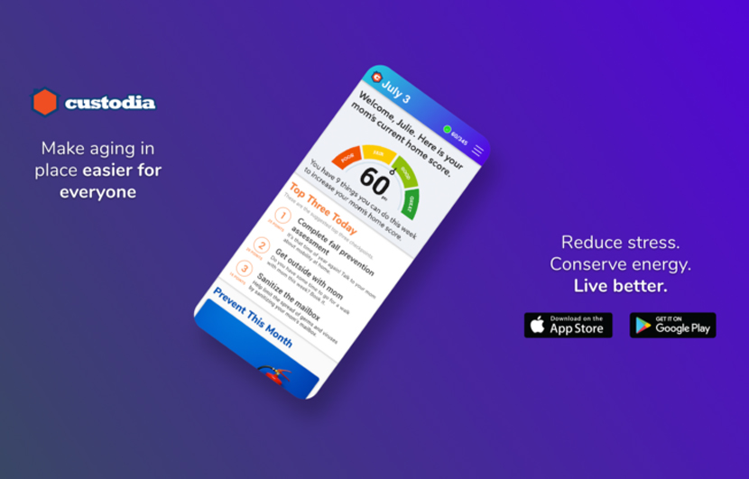 Custodia Home Management app