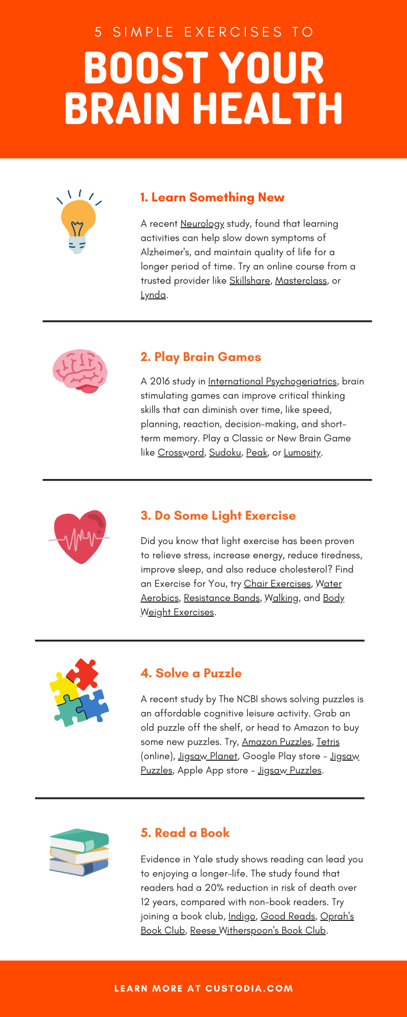 How to boost your brain health, mental exercises for seniors.
